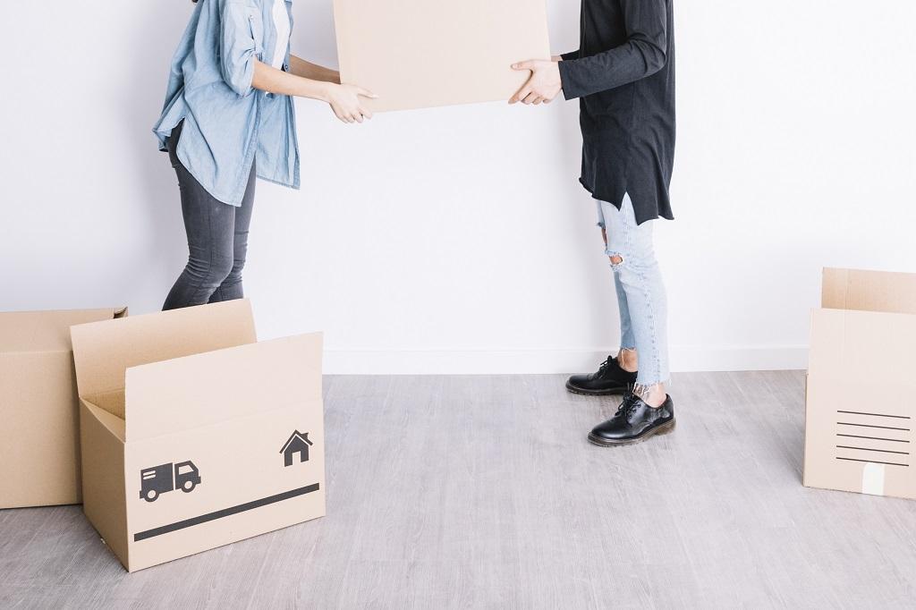 elegir las cajas de cartón para una mudanza